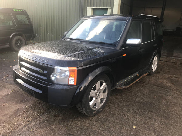 CURRENTLY BREAKING... 2007 LAND ROVER DISCOVERY 3 2.7 TDV6 GS AUTO BLACK