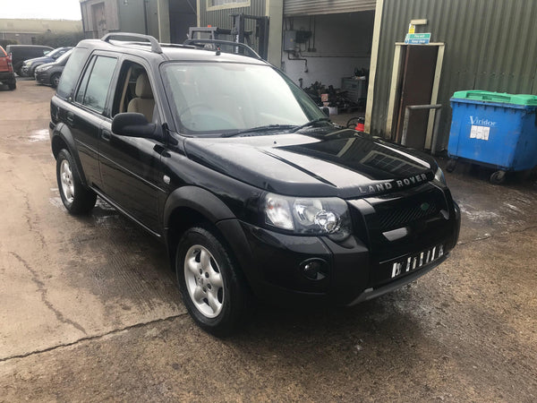 CURRENTLY BREAKING... 2006 FREELANDER 1 2.0 TD4 ADVENTURER MANUAL IN BLACK