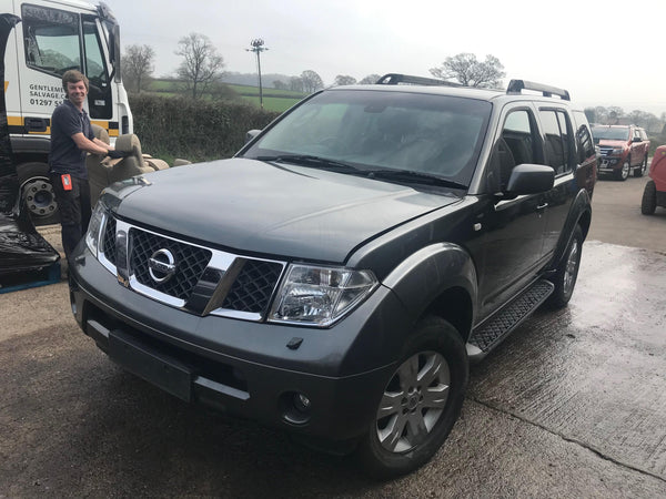 CURRENTLY BREAKING... 2005 NISSAN PATHFINDER T-SPEC DCI 174 A 2.5 DIESEL GREY