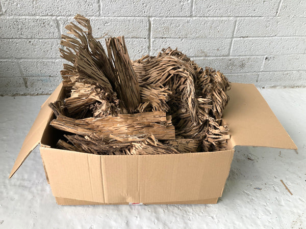 Shredded Cardboard High Quality Packing Green Alternative To Bubble Wrap 10kg