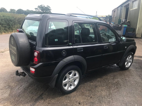CURRENTLY BREAKING... 2006 FREELANDER 1 2.0 TD4 HSE MANUAL IN BLACK