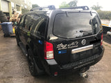 CURRENTLY BREAKING... 2006 NISSAN PATHFINDER SVE DCI 174 2.5 DIESEL BLACK
