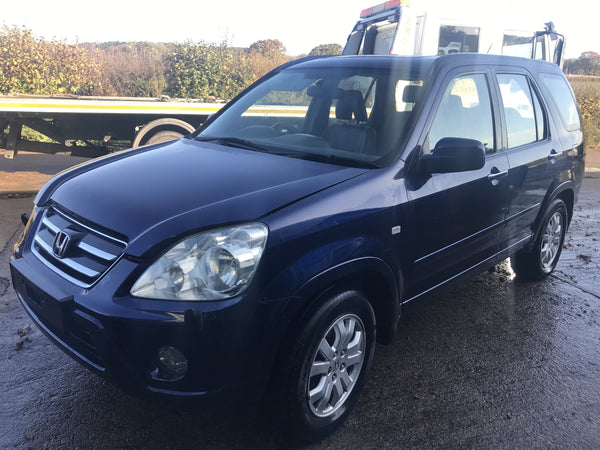 CURRENTLY BREAKING... 2005 HONDA CR-V 2.2 I-CDTI EXECUTIVE MANUAL BLUE