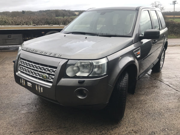 CURRENTLY BREAKING... 2007 LAND ROVER FREELANDER 2 - 2.2 TD4 HSE AUTO GREY