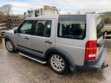 CURRENTLY BREAKING... 2005 LAND ROVER DISCOVERY 3 2.7 TDV6 S MANUAL SILVER