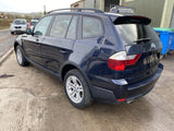 CURRENTLY BREAKING... 2007 BMW X3 2.0D SE 150BHP MANUAL IN BLUE