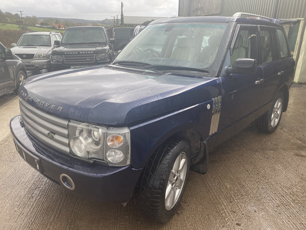 CURRENTLY BREAKING... 2003 RANGE ROVER L322 - 4.4i V8 AUTOBIOGRAPHY PETROL AUTO BLUE