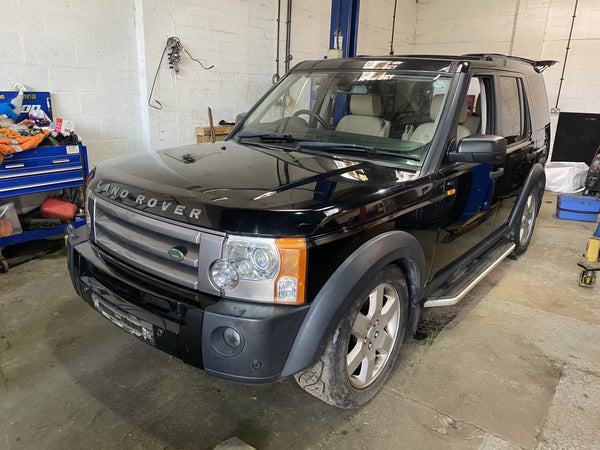 CURRENTLY BREAKING... 2008 LAND ROVER DISCOVERY 3 2.7 TDV6 HSE AUTO BLACK