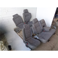Discovery 2  Rear Seats 2nd and 3rd Row  Grey Cloth G18031