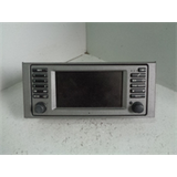 Range Rover L322 Radio Stereo Screen Sat Nav Spares or Repairs D07031