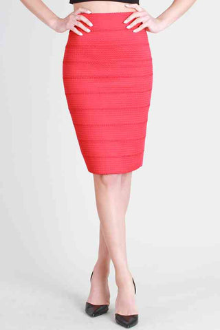 She's on Fire Pencil Skirt