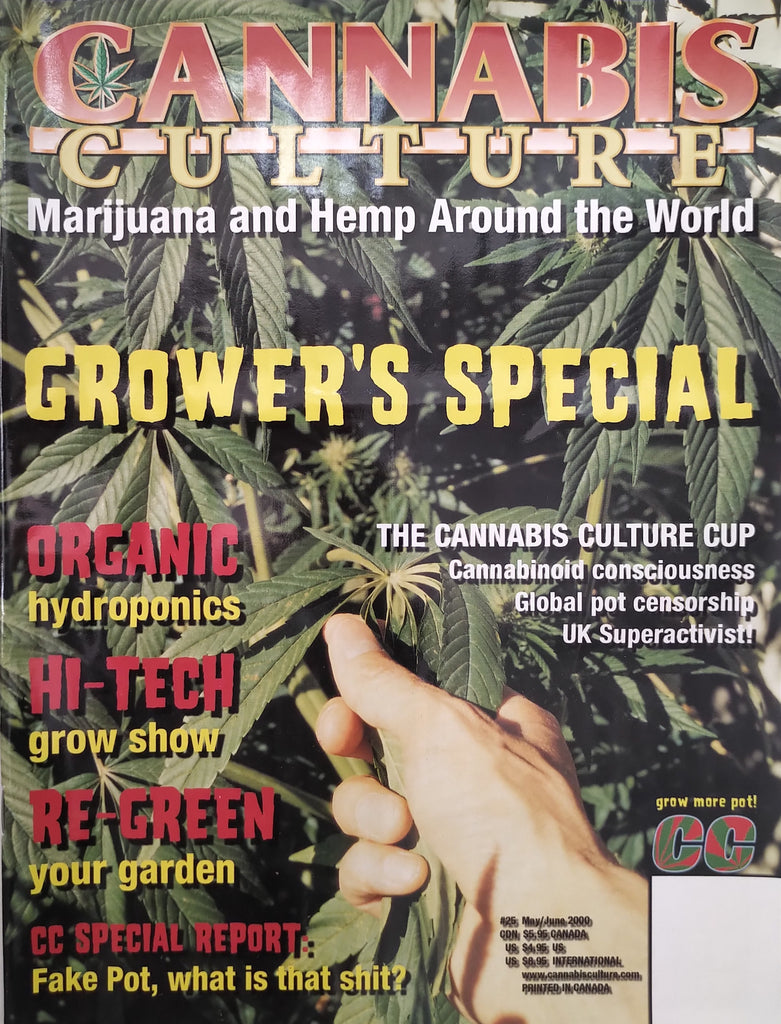 Cannabis Culture Magazine #25, June 2000