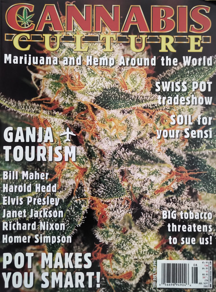 Cannabis Culture Magazine #38, Sept 2002