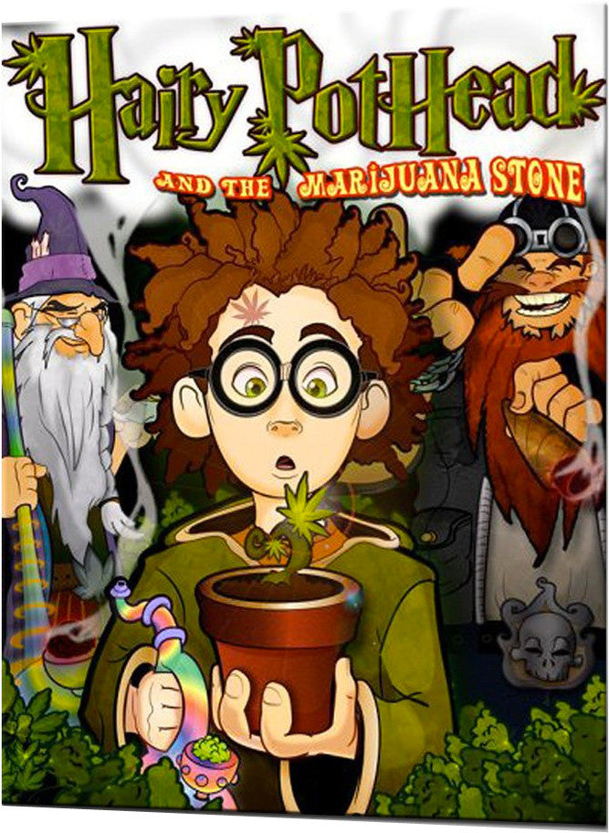 Hairy Pothead and the Marijuana Stone (10 copies)