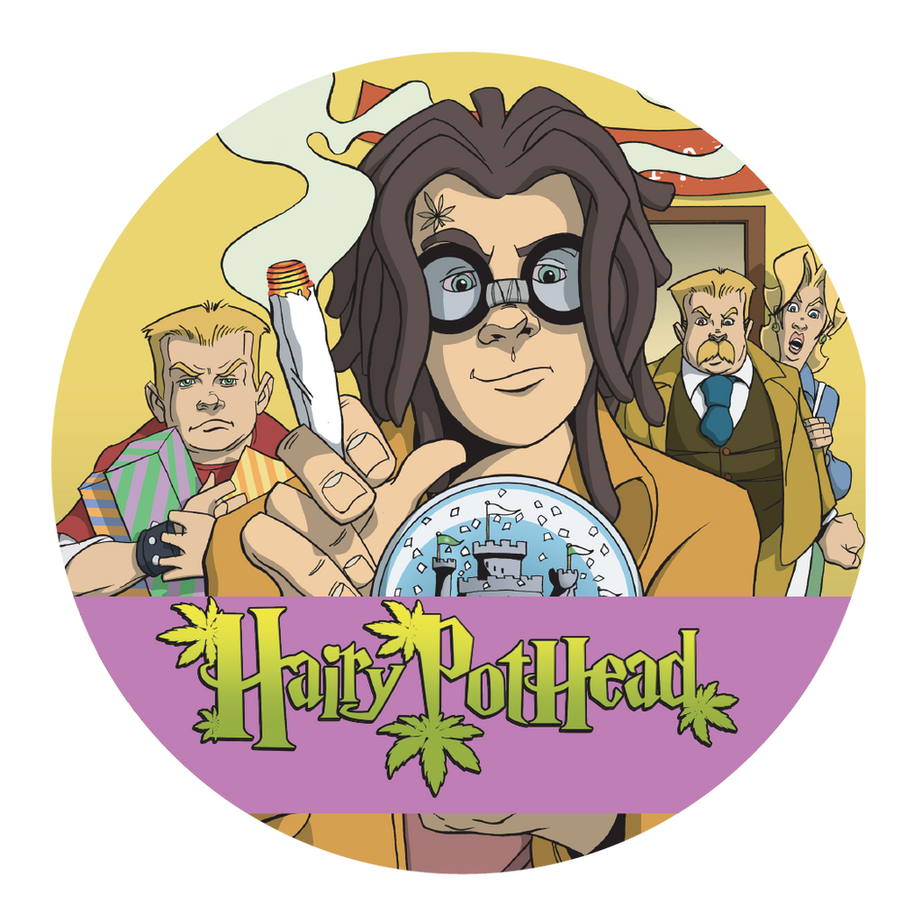 Sticker: Hairy Pothead and the Marijuana Stone - 1