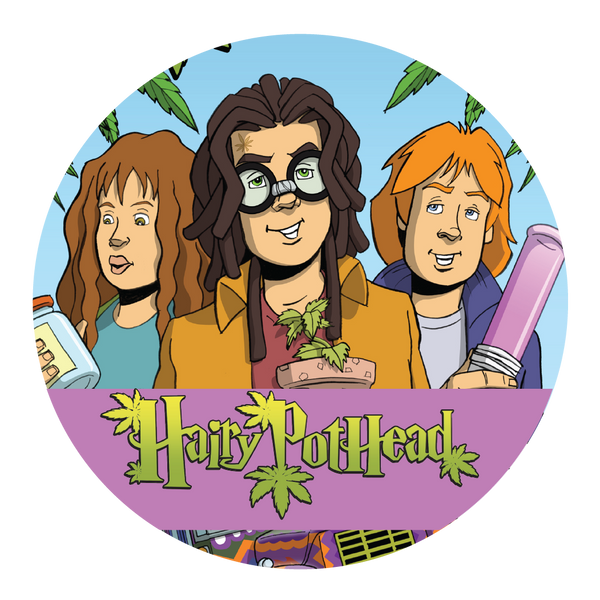 Sticker: Hairy Pothead and the Marijuana Stone - 2