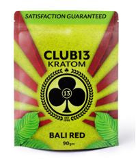Club 13 - Bali Red Kratom Powder - Select a Size