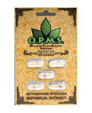 OPMs GOLD Kratom - O.P.M.S. - Extract Capsules 5ct.