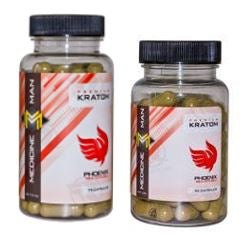 Medicine Man Phoenix Red Veined Bali Kratom - 2 sizes