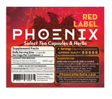 Phoenix Red Label 50x Kratom (1 or 4 caps)