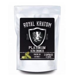 Royal Kratom Platinum Ultra Enhanced Maeng Da