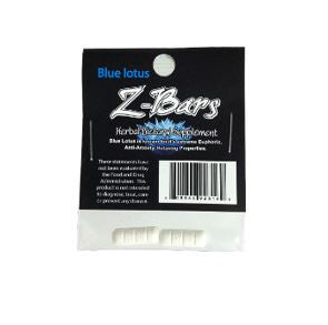 Blue Lotus - Z-Bars Herbal Dietary Supplement - 2ct
