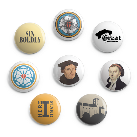 2018 Reformation - Button Pack