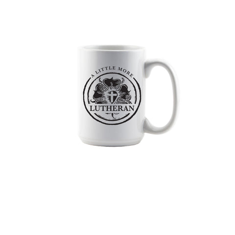 A Little More Lutheran Mug