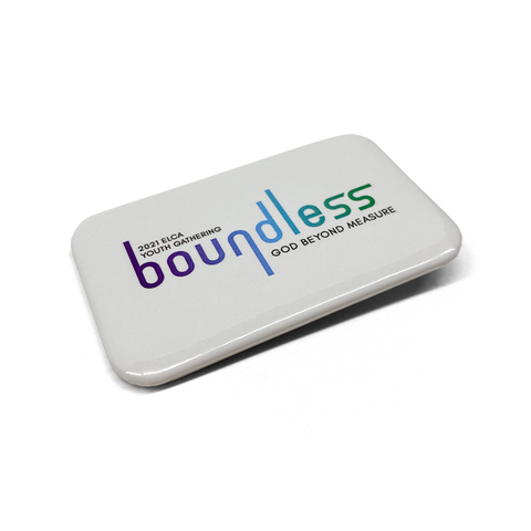 ELCA Youth Gathering boundless Rectangle Button