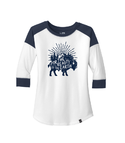 For the Beauty of the Earth Ladies Raglan