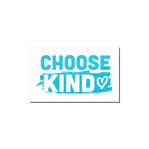 Choose Kind Magnet (Heart-Design)