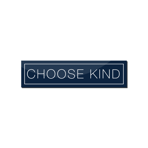 Choose Kind Magnet (Plain Text)