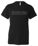Choose Kind Plain Text Youth T-Shirt (Multiple Colors)