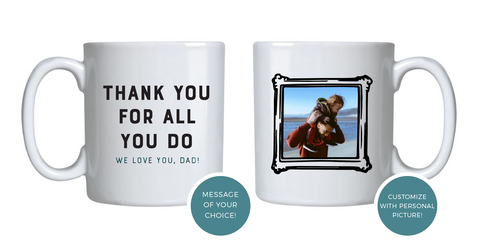 Custom Father's Day Mug