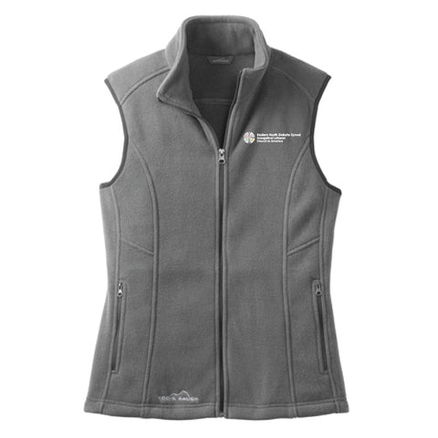 EaND Eddie Bauer Ladies Fleece Vest