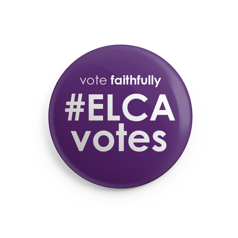 ELCA Votes Buttons - 24 Pack