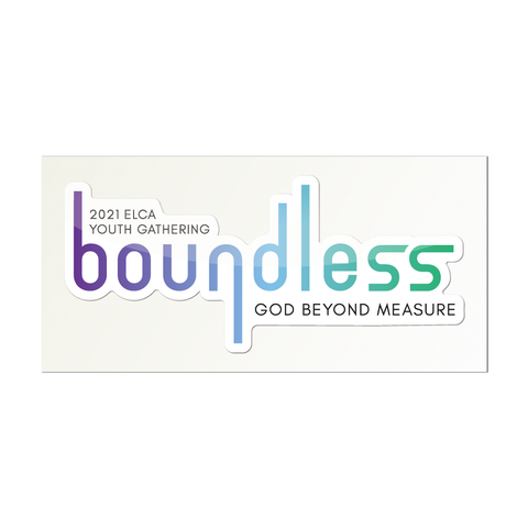 2021 ELCA Youth Gathering boundless Sticker