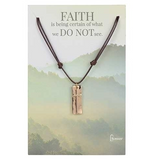Faith Cross Necklace (Multiple Colors)