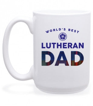 World's Best Lutheran Dad Mug