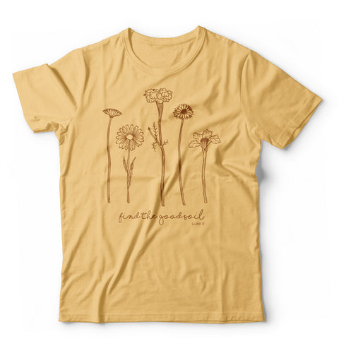 Find the Good Soil T-Shirt Preorder