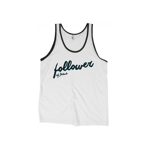 Follower of Jesus Tank Top (Multiple Colors)