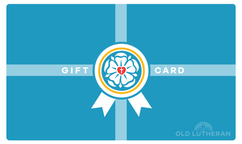 Old Lutheran Gift Card