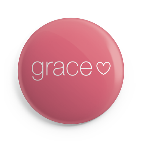 Grace Button Magnet