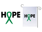 Hope Ribbon Garden Flag
