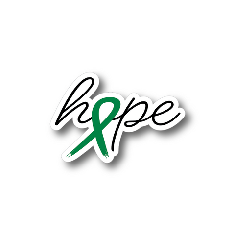 Hope Ribbon Sticker