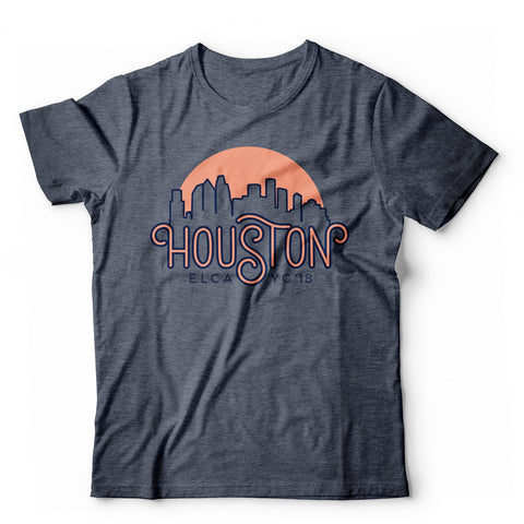 Custom Houston Skyline (ELCA Youth Gath.)