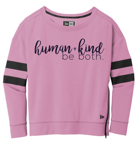 Human Kind Ladies Crewneck Sweatshirt