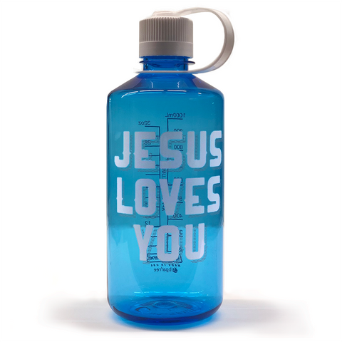 Jesus Loves You Nalgene (Narrow mouth)