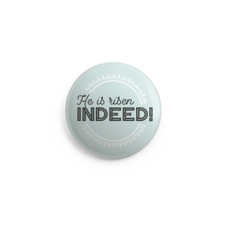 Indeed Button - 2.25 Inches