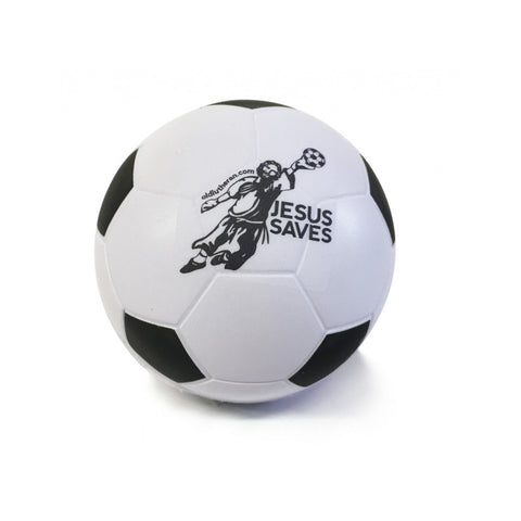 Jesus Saves Foam Soccer Ball